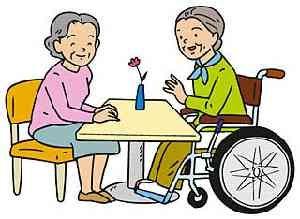 高齢者同士の雑談