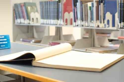 図書館とノート