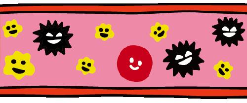 ドロドロの血液