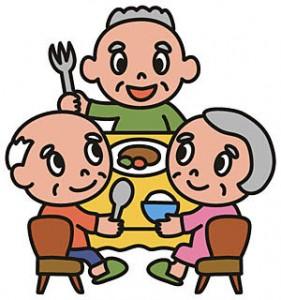 高齢者施設の食事