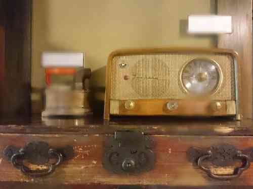 昭和初期のラジオ