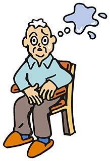 尿漏れが不安なお年寄り