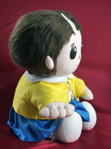 しゃべる人形 おりこうのんちゃんの横側