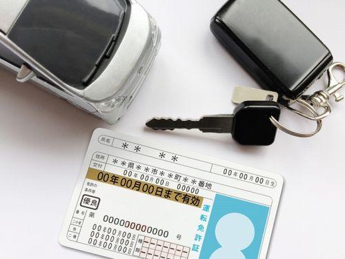 優良ドライバーの運転免許証